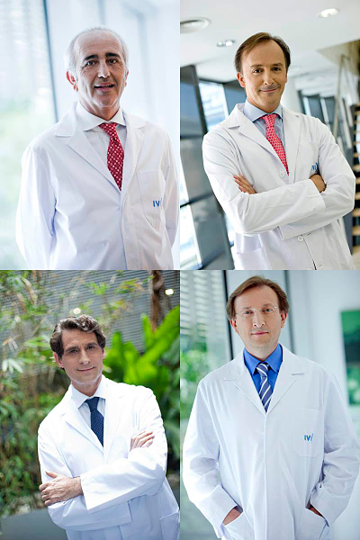Four gynaecologists from IVI are among the seven top researchers in reproductive biology